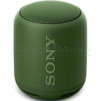 Колонки портативные 1.0 Sony SRS-XB10 RMS 5W, Bluetooth, микрофон, влагонепроницаемые, питание от аккумулятора, зелёный, фото 2