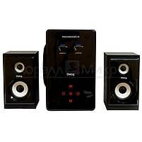 Колонки 2.1 Dialog Progressive AP-220 RMS 60W, Bluetooth, FM, USB, SD, ПДУ, МДФ, чёрный, фото 2