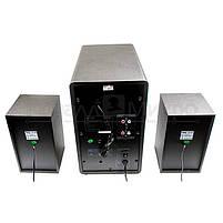 Колонки 2.1 Dialog Progressive AP-220 RMS 60W, Bluetooth, FM, USB, SD, ПДУ, МДФ, чёрный, фото 3