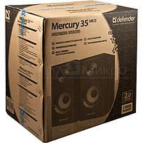 Колонки 2.0 Defender Mercury 35 MKII RMS 40W, караоке, МДФ, чёрный, фото 2