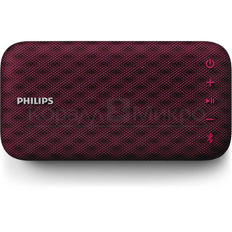 Колонки портативные 1.0 Philips EverPlay BT3900P RMS 4W, Bluetooth, микрофон, влагонепроницаемые, ударопрочные, питание от аккумулятора, красный