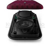 Колонки портативные 1.0 Philips EverPlay BT3900P RMS 4W, Bluetooth, микрофон, влагонепроницаемые, ударопрочные, питание от аккумулятора, красный, фото 4