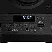 Колонки 2.0 Sven MC-20 RMS 90W Bluetooth, FM, USB, microSD, ПДУ, МДФ, чёрный, фото 2