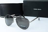 Солнцезащитные очки Armani серые