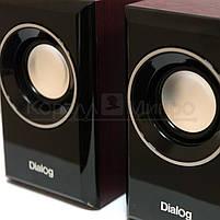 Колонки 2.0 Dialog Stride AST-15UP RMS 6W, USB, МДФ, вишневый, фото 6