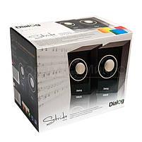 Колонки 2.0 Dialog Stride AST-15UP RMS 6W, USB, МДФ, вишневый, фото 8