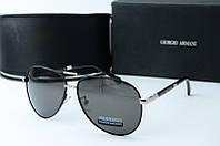 Солнцезащитные очки Armani черные