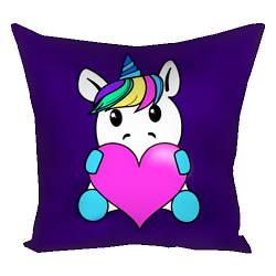 Декоративная подушка Влюбленный пони 30*30см