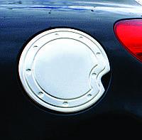 PEUGEOT 207 Накладка на лючок бензобака (нерж.)