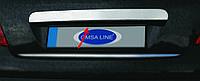 PEUGEOT 207 Накладка над номером на крышку багажника (нерж.)