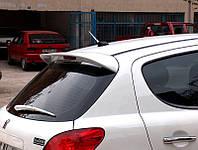 Peugeot 207 Спойлер под покраску