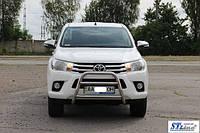 Toyota Hilux 2015 Кенгурятник защита WT023