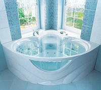 Гидромассажная ванна с врезным смесителем Triton Виктория, 1500х1500х670 мм