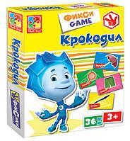 Игра настольная Vladi Toys Фикси game Крокодил (VT2107-04)