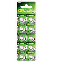 Батарейка GP Alkaline 1.5v A76, LR44, V13GA (11.6*5.4)