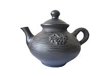 Чайник Калина Гаварецкая керамика (Гаварецкая глиняная посуда)
