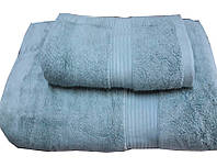 ТМ TAG Набор махровых полотенец Galata светло-голубой