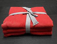 ТМ TAG Набор кухонных полотенец 50*70 Vega (красный)