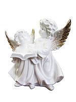 Ангел Пара с книгой Глянец (Статуэтки ангелов)