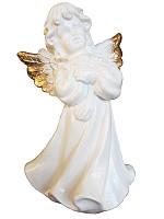 Ангел средний золотой Глянец (Статуэтки ангелов)