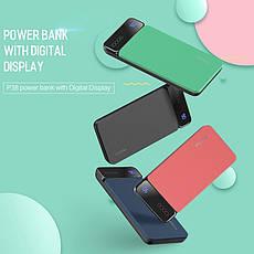 Зовнішній акумулятор ROCK P38 Power Bank 10000 mAh Black. Краща якість. 100% оригінал, фото 3