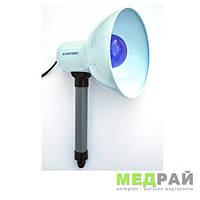 Рефлектор Синяя лампа КВАРЦ-60 СЛ-Руч
