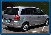 Opel Zafira B Накладка на задний бампер Omsaline