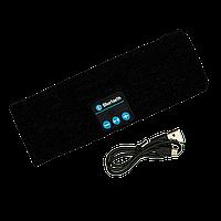 Повязка с Bluetooth гарнитурой Черная