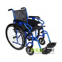 Стандартная инвалидная коляска OSD Millenium III хром
