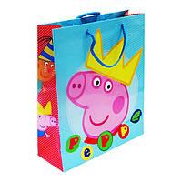 Пакет подарочный Peppa 32 x 27 x 10 Разноцветный (169126)