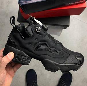 Мужские и женские кроссовки в стиле Reebok Insta Pump Fury Triple Black