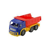 """Машина """"Акрос"""" самосвал №1 арт. 0510, детская машинка, игрушечный грузовик, игрушка для мальчиков"""