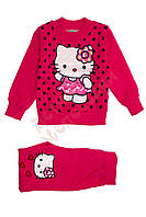 "Спортивный костюм для девочки ""Hello Kitty"" ""Wanhill"", малиновый, 92(86-104), 92 см"
