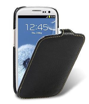 Чехол-флип для Samsung S5312 черный