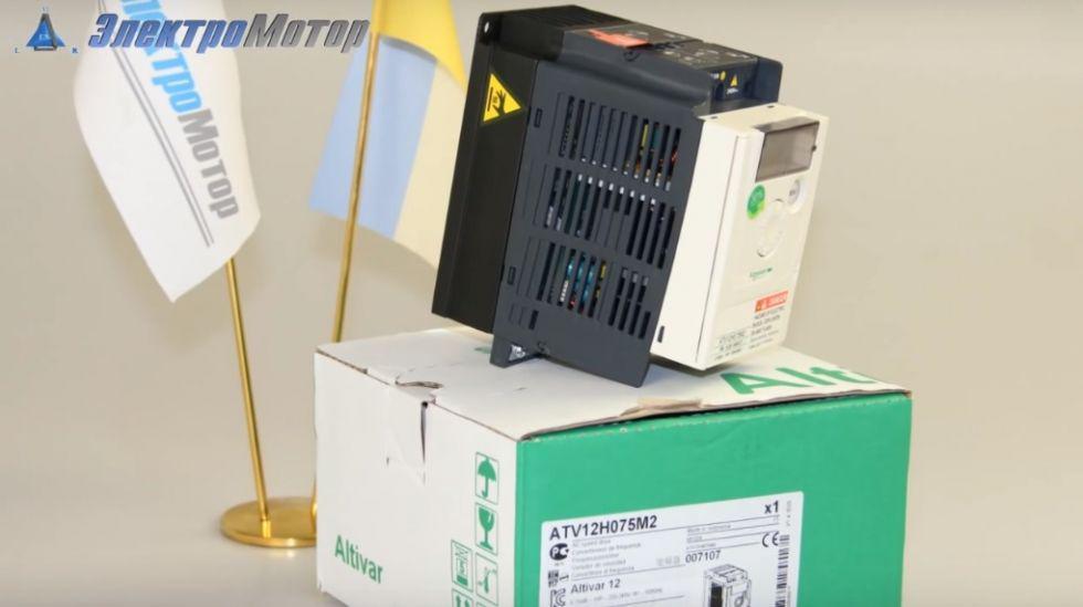 Преобразователь частоты Schneider ATV312HU11N4