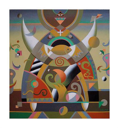 Картина Оранта В.Матвейцев 2009 год, фото 2