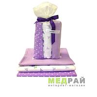Набор пеленок для ребенка CHICbebe (фиолетовый)