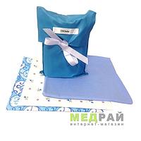 Набор пеленок для мальчика CHICbebe (голубой)