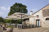 Зонт большой без волана, Capri Dark, Scolaro, 5000х5000х4600 мм