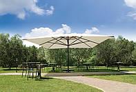 Зонт большой без волана, Capri Dark, Scolaro, 6000х6000х5400 мм