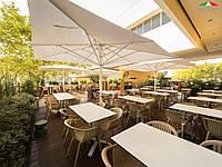 Зонт большой с воланом, Capri Dark, Scolaro, 5000х5000х4600 мм