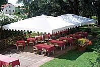 Зонт большой с воланом, Capri Dark, Scolaro, 5000х6000х5400 мм