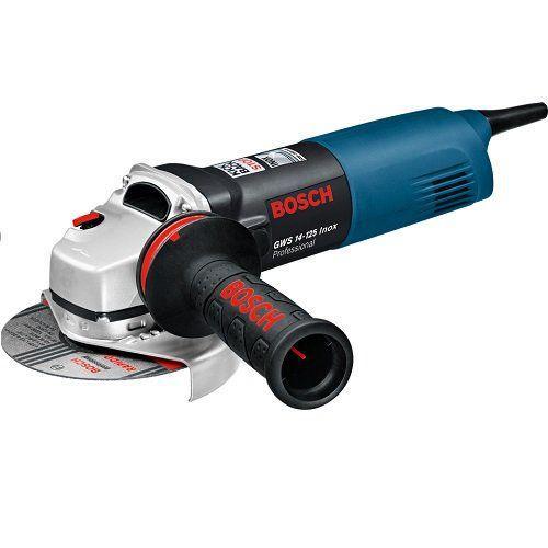 Угловая шлифмашина Bosch GWS 14-125 Inox Set