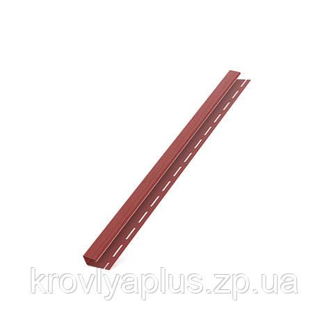 Соффит Планки  BRYZA (БРИЗА)  Джей профиль (J) красный , фото 2