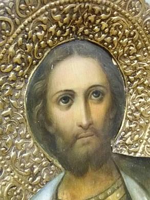 Икона св.Александр Невский 19 век, фото 2