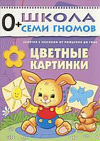 Цветные картинки. Для занятий с детьми от рождения до года