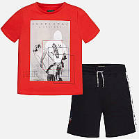 Комплект футболка, майка и шорты для мальчика MAYORAL Испания