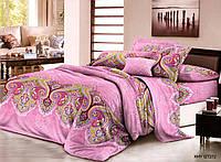 Двуспальный набор постельного белья 180*220 из Полиэстера №267 Черешенка™
