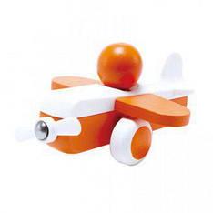 Каталка Cамолетик E0065 оранжевый