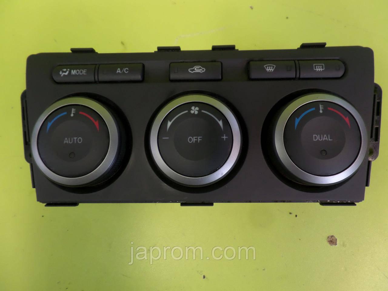 Блок управления печкой (отопителем) климат контролем Mazda 6 GH 2008-2012г.в.
